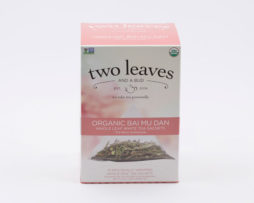 Te Blanco Orgánico Organic Bai Mu Dan Infusión Two Leaves Tea