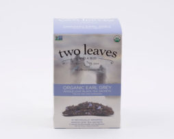 Té Negro Orgánico Organic Earl Grey Infusión Two Leaves Tea