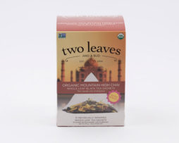 Té Negro Orgánico Organic Mountain Hig Chai Infusión Two Leaves Tea