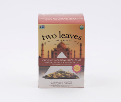 Té Negro Orgánico Organic Mountain Hig Chai Infusión Two Leaves Tea