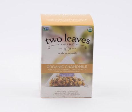Té Orgánico Organic Chamomile Infusión Manzana Manzanilla Two Leaves Tea