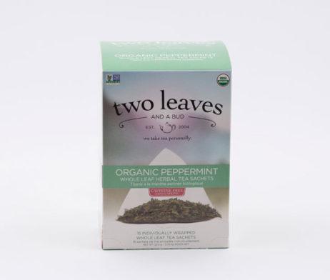 Te Orgánico Organic Pepermint Infusión Menta Peperina Two Leaves Tea