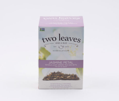 Té Verde Jazmine Petal Infusión Pétalos Flores Jazmín Two Leaves Tea