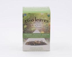 Té Verde Orgánico Organic Orange Sencha Infusión Naranja Two Leaves Tea