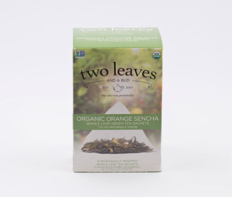 Té Verde Orgánico Organic Orange Sencha Infusión Naranja Two Leaves Tea