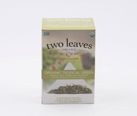 Te Verde Orgánico Organic Tropical Green Infusion Goji Two Leaves Tea