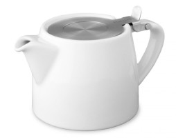Tetera Blanca Stump Teapot 40 cl Two Leaves Tea