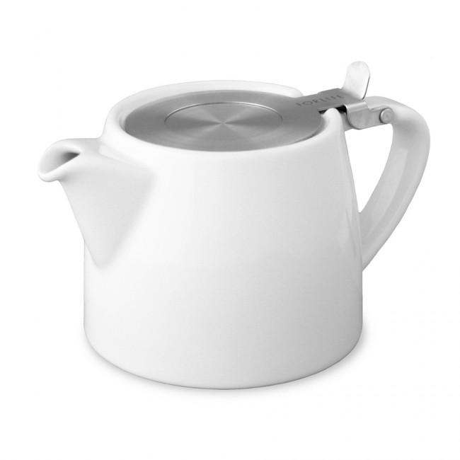 Tetera Blanca Stump Teapot 40 cl Two Leaves Tea