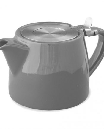 Tetera Gris Stump Teapot 40 cl Two Leaves