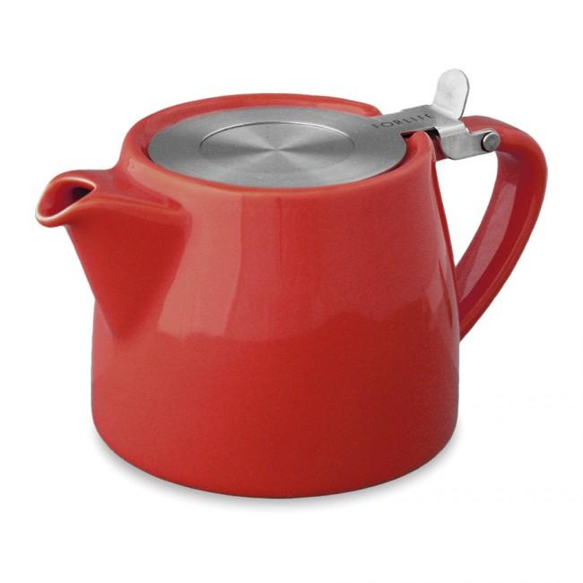 Tetera Roja Stump Teapot 40 cl Two Leaves Tea
