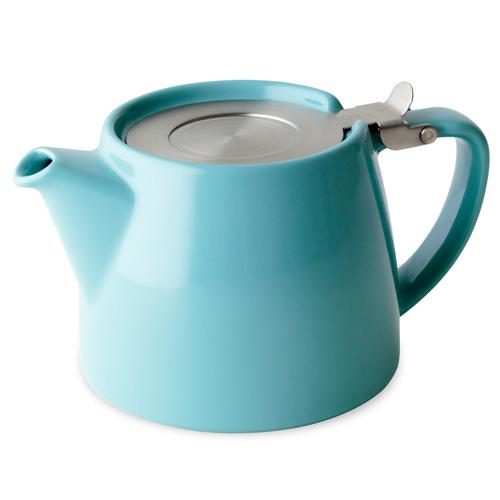 Tetera Turquesa Stump Teapot 40 cl Two Leaves Tea