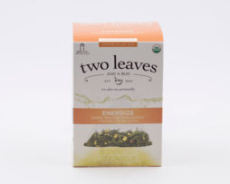 Te Verde Organico Energize Infusion Ginseng Jengibre Two Leaves Tea
