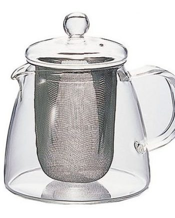 Tetera de Cristal con Filtro de Malla Hario Two Leaves Tea