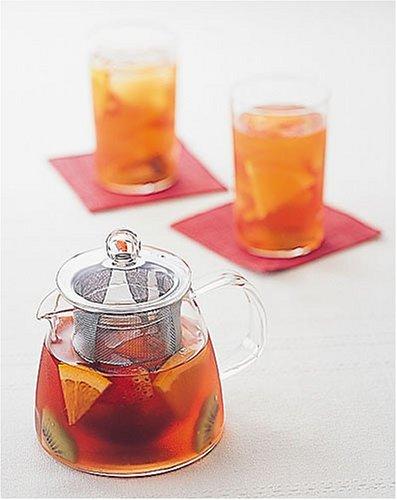 Tetera de Cristal con Filtro de Malla 700 ml Hario Two Leaves Tea