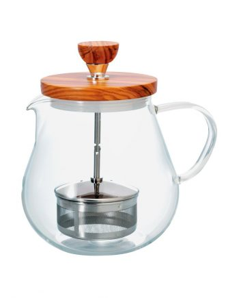 Tetera de Cristal Para Infusionar Hario Two Leaves Tea